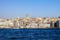 Όψη πύργων Galata στοκ εικόνα με δικαίωμα ελεύθερης χρήσης