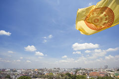 όψη σημαιών πόλεων της Μπανγ&kap Στοκ εικόνα με δικαίωμα ελεύθερης χρήσης