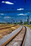 όψη σιδηροδρόμων Στοκ εικόνες με δικαίωμα ελεύθερης χρήσης