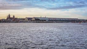 όψη σιδηροδρομικών σταθμών Στοκ Εικόνες