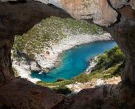 όψη σπηλιών Στοκ φωτογραφίες με δικαίωμα ελεύθερης χρήσης
