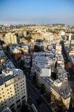όψη στεγών της Ιερουσαλήμ στοκ εικόνες