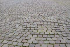 Όψη σχετικά με ένα οδικό πρότυπο κυβόλινθων Στοκ Εικόνα