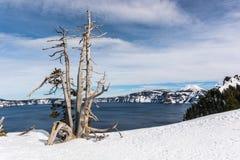 Όψη της λίμνης κρατήρων Στοκ φωτογραφία με δικαίωμα ελεύθερης χρήσης