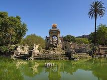 όψη της Βαρκελώνης Ισπανία Στοκ εικόνες με δικαίωμα ελεύθερης χρήσης