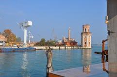 όψη της Βενετίας καναλιών Στοκ φωτογραφίες με δικαίωμα ελεύθερης χρήσης