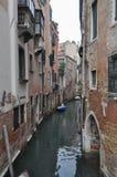 όψη της Βενετίας καναλιών Στοκ Φωτογραφίες