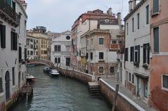 όψη της Βενετίας καναλιών Στοκ εικόνα με δικαίωμα ελεύθερης χρήσης