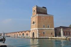 όψη της Βενετίας καναλιών Στοκ φωτογραφία με δικαίωμα ελεύθερης χρήσης