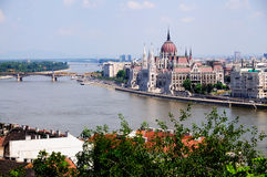 όψη της Βουδαπέστης Στοκ Εικόνες