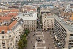 όψη της Βουδαπέστης Στοκ Φωτογραφίες
