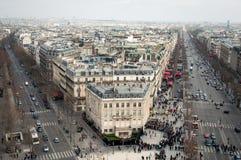 όψη της Γαλλίας Παρίσι Στοκ Εικόνες