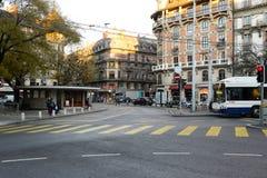 όψη της Γενεύης Στοκ φωτογραφία με δικαίωμα ελεύθερης χρήσης