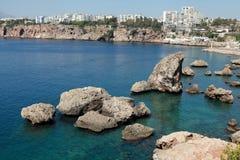 Όψη της θάλασσας, Antalya. Στοκ φωτογραφία με δικαίωμα ελεύθερης χρήσης