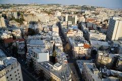 Όψη της Ιερουσαλήμ από τις στέγες στοκ εικόνα με δικαίωμα ελεύθερης χρήσης