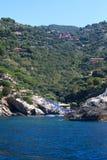 όψη της Ιταλίας παραλιών argentario mo Στοκ φωτογραφία με δικαίωμα ελεύθερης χρήσης