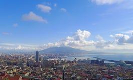 όψη της Ιταλίας Νάπολη στοκ φωτογραφία