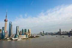 όψη της Κίνας Σαγγάη Στοκ φωτογραφίες με δικαίωμα ελεύθερης χρήσης