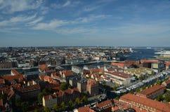 όψη της Κοπεγχάγης Στοκ Φωτογραφίες