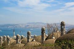 Όψη της Κωνσταντινούπολης Στοκ Φωτογραφία