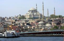 όψη της Κωνσταντινούπολη&sigma Στοκ εικόνες με δικαίωμα ελεύθερης χρήσης