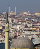 όψη της Κωνσταντινούπολη&sigmaf Στοκ Εικόνες
