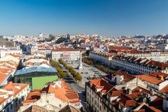 όψη της Λισσαβώνας Στοκ Εικόνα