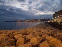 όψη της Νάπολης στοκ εικόνα με δικαίωμα ελεύθερης χρήσης