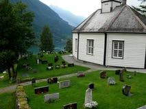 όψη της Νορβηγίας βουνών φιορδ geiranger Στοκ φωτογραφία με δικαίωμα ελεύθερης χρήσης