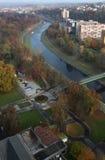 όψη της Οστράβα αιθουσών πόλεων στοκ φωτογραφία