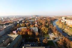 όψη της Οστράβα αιθουσών πόλεων στοκ φωτογραφία με δικαίωμα ελεύθερης χρήσης