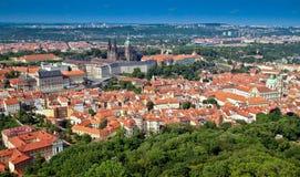 όψη της Πράγας πόλεων Στοκ φωτογραφία με δικαίωμα ελεύθερης χρήσης