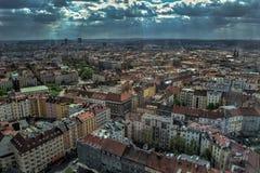 Όψη της Πράγας Στοκ φωτογραφία με δικαίωμα ελεύθερης χρήσης