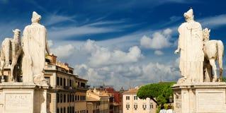 Όψη της Ρώμης από το Κάπιτολ Χιλλ Στοκ εικόνα με δικαίωμα ελεύθερης χρήσης