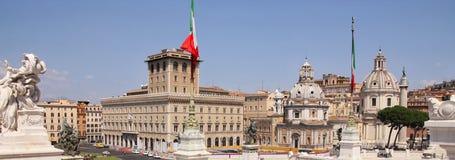 όψη της Ρώμης πανοράματος τη& Στοκ Φωτογραφίες