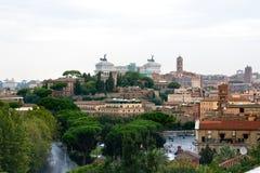 όψη της Ρώμης Στοκ Εικόνες