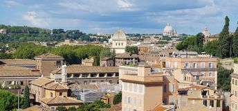 όψη της Ρώμης Στοκ φωτογραφίες με δικαίωμα ελεύθερης χρήσης