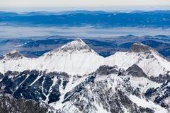 όψη της Σλοβακίας βουνών στοκ εικόνες