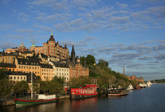 όψη της Στοκχόλμης Στοκ Εικόνες