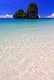 Όψη της ταϊλανδικής θάλασσας, νότος της Ταϊλάνδης στοκ εικόνα με δικαίωμα ελεύθερης χρήσης