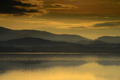 όψη της Ταϊλάνδης βουνών Στοκ Εικόνες