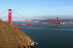 Όψη της χρυσής γέφυρας πυλών στο Σαν Φρανσίσκο, Καλιφόρνια Στοκ φωτογραφία με δικαίωμα ελεύθερης χρήσης