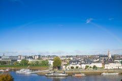 Όψη της Angers, Γαλλία Στοκ Φωτογραφίες