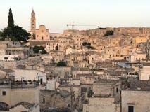 όψη του Βασιλικάτα Ιταλία $matera Στοκ Εικόνες