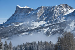 Όψη του βουνού, Alta Badia - δολομίτες Στοκ φωτογραφία με δικαίωμα ελεύθερης χρήσης