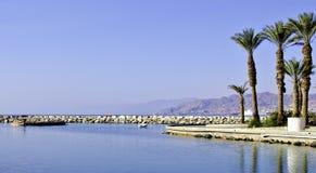 όψη του Ισραήλ κόλπων aqaba eilat Στοκ φωτογραφία με δικαίωμα ελεύθερης χρήσης