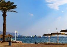 όψη του Ισραήλ κόλπων aqaba eilat Στοκ εικόνα με δικαίωμα ελεύθερης χρήσης