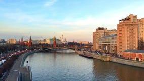 όψη του Κρεμλίνου izmailovo απόθεμα βίντεο