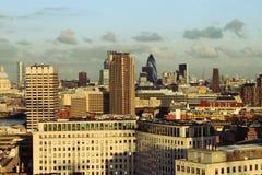 όψη του Λονδίνου πόλεων Στοκ φωτογραφία με δικαίωμα ελεύθερης χρήσης