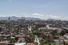 όψη του Μεξικού πόλεων Στοκ Εικόνες